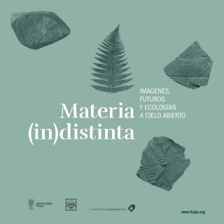 Materia (in)distinta. Imágenes, futuros y ecologías a cielo abierto