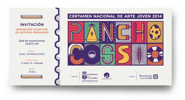 Certamen Nacional de Arte Joven Pancho Cossio - 2014