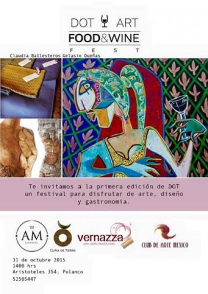 DOT Art - Food & Wine