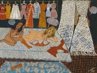 Maria Auxiliadora da Silva, Três mulheres, 1972