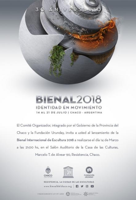 Bienal Internacional de Escultura 2018. Imagen cortesía  Fundación Urunday