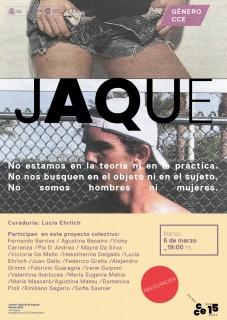 JAQUE. Imagen cortesía CCE en Montevideo