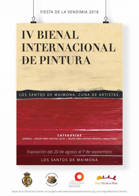 IV Bienal Internacional de Pintura: Los Santos de Maimona. Cuna de artistas