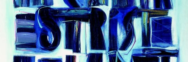 João Vieira, Sem título (La Chair est Triste) (detalhe),1966. Col. Secretaria de Estado da Cultura, em depósito na Fundação de Serralves – Museu de Arte Contemporânea, Porto. Fotografia: Angel Ordiales, © Fundação de Serralves, Porto