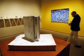 Vista de la exposición «XIV Certamen Fundación Unicaja de Artes Plásticas» — Cortesía de la Fundación Unicaja