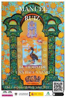 Cartel exposición de Manuel Ruiz