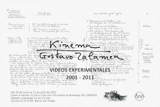 KINEMA videos experimentales de Gustavo Zalamea
