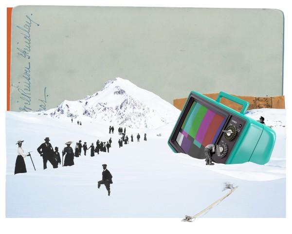 Ruben Torras Llorca, Cinema Paradiso. Impresión giclée sobre papel. 54 x 67,5 cm. 2014