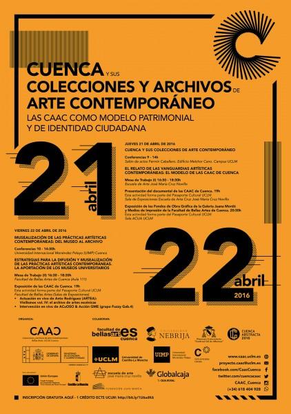 Cartel Jornadas CAAC Cuenca
