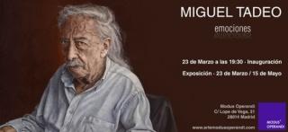Miguel Tadeo. Emociones