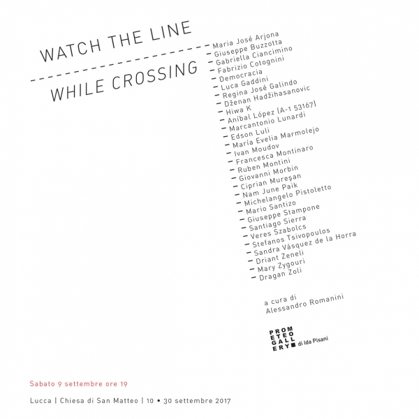 Watch the line while crossing