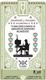IV GRAN CURSO ELEMENTAL DE ANQUILOSIS DE CACHIVACHES MELANCÓLICOS. Imagen cortesía FLORA ars+natura