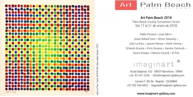 Art Palm Beach 2018 Flyer