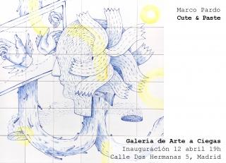 Tarjetón de Marco Pardo - Cortesía de la galería