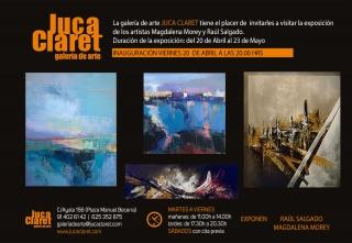 Exposición Raúl Salgado y Magdalena Morey