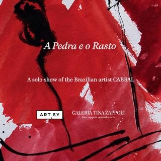 Cabral: A Pedra e o Rastro. Imagen cortesía GALERIA TINA ZAPPOLI