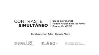 Contraste simultáneo. Cruce patrimonial Fondo Nacional de las Artes, Fundación OSDE