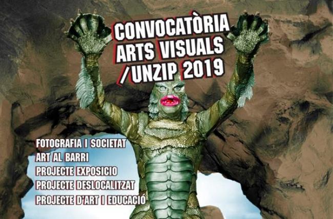 Convocatòria d'Arts Visuals /UNZIP 2019