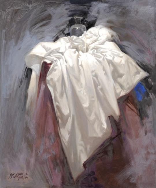 "Rafael Català, ""BODEGON A6"" Óleo sobre lienzo. 65 x 54 cm. — Cortesía de Omnium Ars"