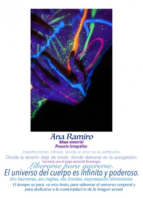 Ana Ramiro. Mapa Sensorial. Proyecto fotográfico