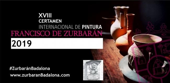 XVIII Certamen Internacional de Pintura Zurbarán 2019.