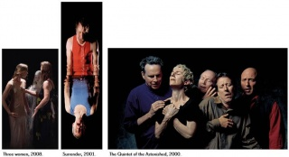 Bill Viola. Three Women, 2008 - Surrender, 2001 - The Quintet of the Astonished, 2000