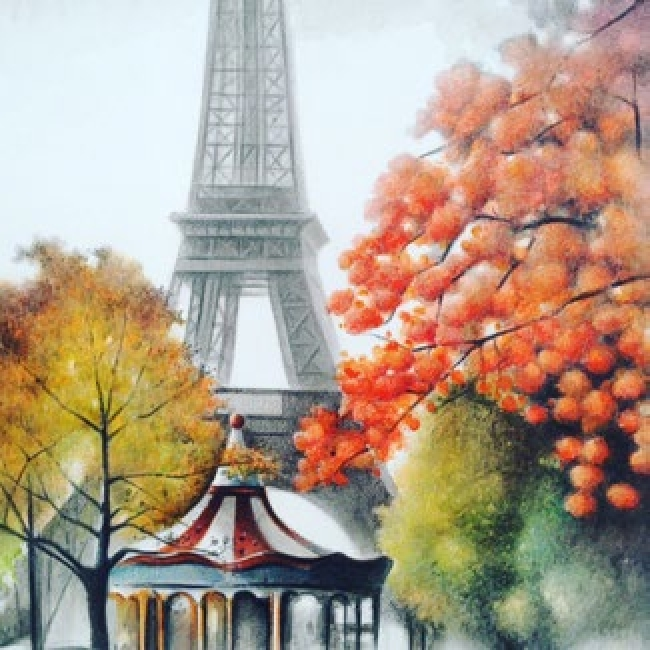 Juan Mir. Paris — Cortesía del Gremi de Galeries d'Art de Catalunya