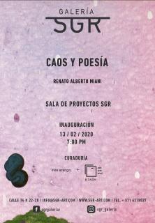 Renato Alberto Miani. Caos y poesía