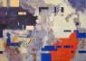 Amelia Serrano. S.T. Técnica mixta y composición digital sobre lienzo. 50 x 70 cm
