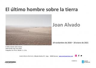 Invitación exposición Joan Alvado