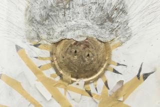 MICHAEL BUTHE, Sit, 1974. Collage, 110 x 75 cm. — Cortesía de Maisterravalbuena
