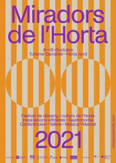 CARTEL MIRADORS DE L'HORTA 2021