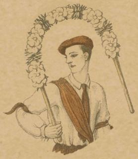 Bailarines vascos - Obdulio López de Uralde