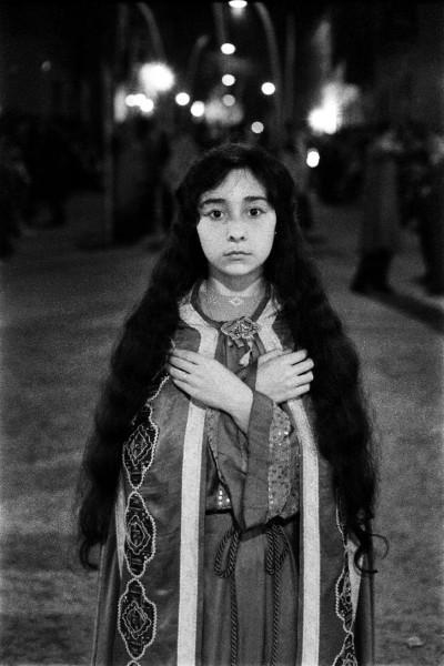 Ricard Terré. Semana Santa. L´Hospitalet de Llobregat, 1958 © Ricard Terré