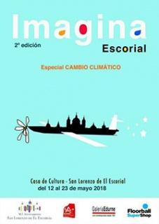 Cartel Exposición Imagina Escorial