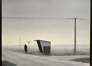José Antonio Ochoa, On the road [XXI Premio Nacional de Pintura Fundación Mainel]