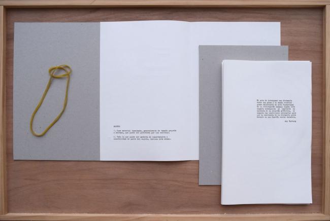 Artist Book. Objetos ((eco)) Arqueología de los afectos. detalle.