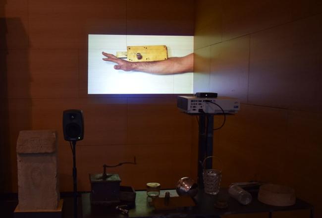 Objetos ((eco)). Arqueología de los afectos. (detalle). Museo Villa Romana de Veranes