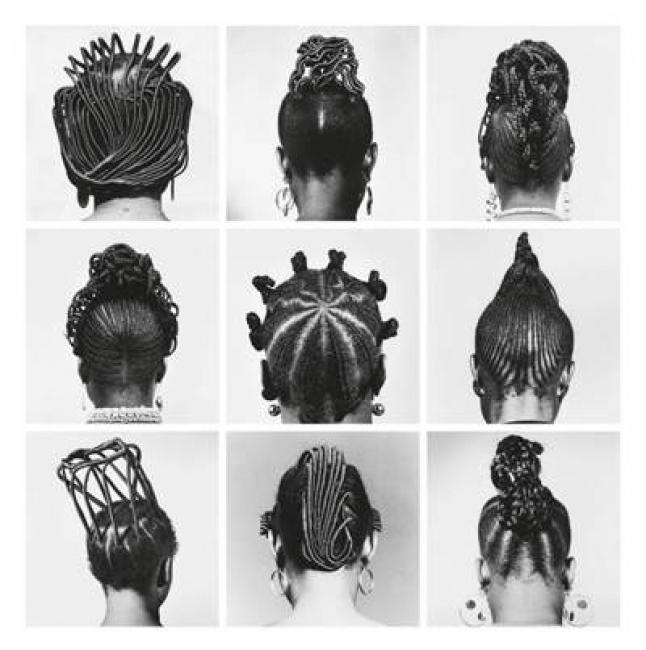 J.D. 'Okhai Ojeikere, Sin título [Peinados], 1970-79 © El artista. Cortesía The Walther Collection y Galería Magnin-A, París