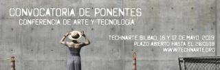 Convocatoria de ponencias para Technarte Bilbao 2019