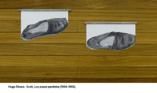 Los pasos recobrados. Sobre las obras Hugo Rivera-Scott y otros