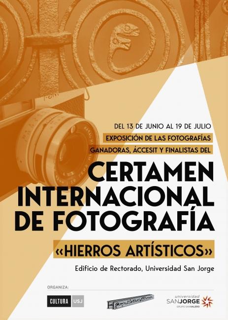 Cartel Exposición «Hierros Artísticos»