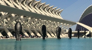 View of the exhibition in Valencia by the Fundación Hortensia Herrero — Cortesía de Galerie Lelong & Co.