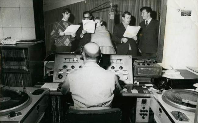 Cabinas de locución en Bogotá de Radio Sutatenza