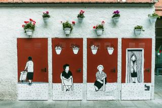 Tercer premio: En mitad del medio — Cortesía de Madrid Street Art Project