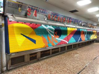 Primer premio: De Tripas Aerosol — Cortesía de Madrid Street Art Project