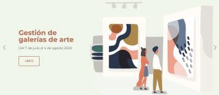 Curso online de Gestión de galerías de arte