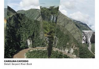 Carolina Caycedo. Serpent River Book. Detalle — Cortesía del Museo de Arte Contemporáneo de Puerto Rico (MAC)