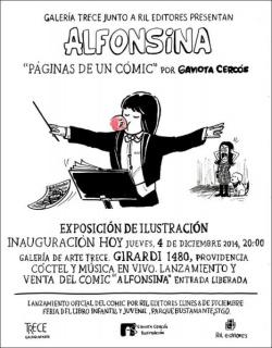 Alfonsina, páginas de un cómic