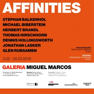 AFFINITIES - Group Show